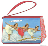 Anne Taintor - Too Old Cosmetic Bag Specialty Bags