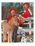 Kids, Baby Burrow and Dalmatian Prints