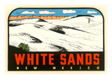 White Sands, New Mexico Decal Prints