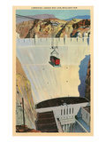Lowering Loaded Boxcar, Hoover Dam Prints