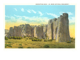 Inscription Rock, El Moro National Monument, New Mexico Posters