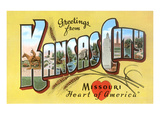 Greetings from Kansas City, Missouri Prints
