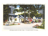 Smith's Motor Court, Myrtle Beach, South Carolina Prints