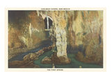 First Spring, Carlsbad Caverns, New Mexico Art