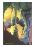 Painting of Carlsbad Caverns, New Mexico Photo