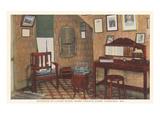 Interior, Mark Twain House, Hannibal, Missouri Prints