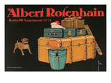Poster for Albert Rosenhain Trunk Prints