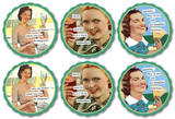 Anne Taintor - Daiquiris Coaster Set Coaster