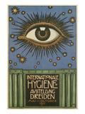 International Hygiene Exhibition, Eye Poster