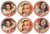 Anne Taintor - Conscience Coaster Set Coaster
