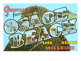 Greetings from Osage Beach, Missouri Prints
