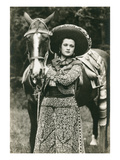 Mexican Charra with Horse Poster