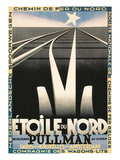 Poster for European Railways, Tracks Prints