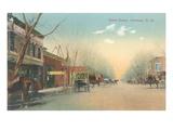 Vintage Street Scene, Carlsbad, New Mexico Prints
