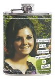 Anne Taintor - Rehab Stainless Steel Flask Flask