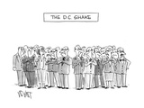 The D.C. Shake - Cartoon Regular Giclee Print by Christopher Weyant