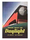 Streamlined Daylight Train Posters