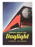 Streamlined Daylight Train Prints