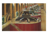 Hydroelectric Turbines, Hoover Dam Print