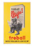 Treball, Ad for Catalan Labor Newspaper Prints