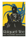 Riquet Tee, Buddha and Thorn Bush Kunstdruck