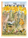 The New Yorker Cover - April 15, 2013 Regular Giclee Print by Edward Sorel