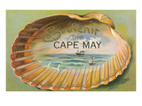 Souvenir from Cape May, New Jersey, Clam Art