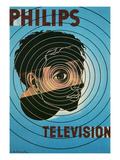 Philips Television Ad, Encircled Eye Plakater