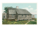 Boatswain Allan's House, Newcastle, New Hampshire Print