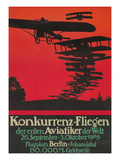 Early German Airshow, 1909 Posters