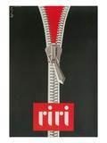 Zipper, Riri Print