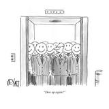 """Dow up again"" - Cartoon Regular Giclee Print by Christopher Weyant"