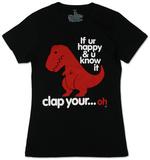 Juniors: Sad T-Rex T-Shirt