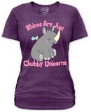 Juniors: Chubby Unicorn Koszulki