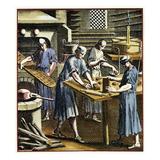 Abbildung Und Beschreibung Der Gemeinnützlichen Hauptstände (Gingerbread Baker) Giclee Print by Christoph Weigel