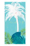 Palm Tree Paradise 2 Print by Bella Dos Santos
