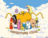 Adventure Time - Cloud Plakater