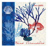 Marine Botanical Prints by Devon Ross
