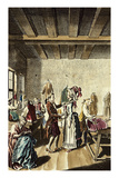 The Tailor, Vogel Based on Gabler Prints by Ambrosius Gabler