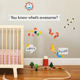 Awesome Collection 2 Wall Decal Wall Decal by Wee Society