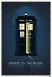 Doctor Who 50th Anniversary Art Print Poster Obrazy