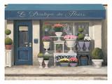 La Boutique Des Fleurs Posters by Marco Fabiano