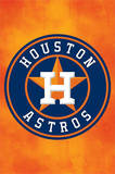 Houston Astros Logo Baseball Poster Posters