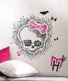 Monster High Heart Skullette Peel & Stick Wall Decals Decalque em parede
