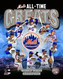New York Mets All Time Greats Composite Photographie