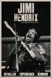 Jimi Hendrix - Copenhagen Reprodukcje
