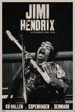 Jimi Hendrix - Copenhagen Pôsters