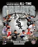 Chicago White Sox All Time Greats Composite Photographie