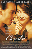 Chocolat - Johnny Depp Juliette Binoche Movie Poster Poster