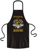Schürze: Papa bester Koch Apron